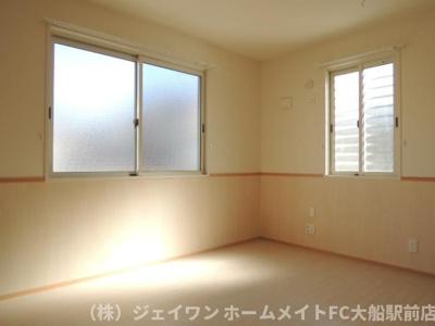 角部屋の洋室