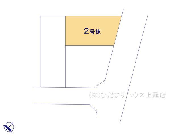 【区画図】北区本郷町 第3 新築一戸建て ハートフルタウン 02