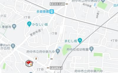 【地図】レオパレス小柳町Ⅱ(30251-106)