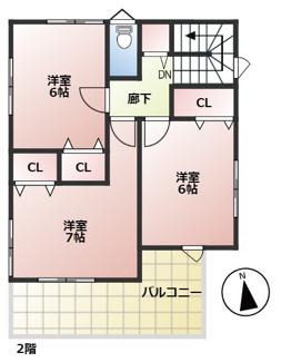 【間取り】FIRSTTOWN 草津市第3追分 新築戸建て