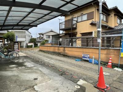 【前面道路含む現地写真】FIRSTTOWN 草津市第3追分 新築戸建て