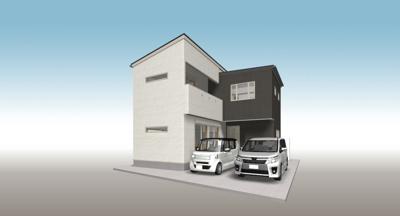 建物プラン外観パース プラン例価格1660万円(税込)