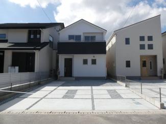 碧南市東浦町第2新築分譲住宅2号棟写真です。2021年10月撮影