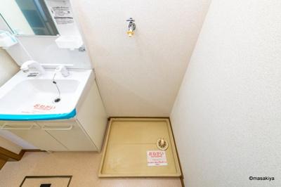 洗面・脱衣 室内洗濯機置き場