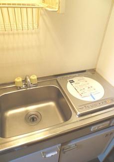 【キッチン】《満室高稼働!》横浜市中区本牧満坂一棟アパート