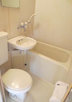 【浴室】《満室高稼働!》横浜市中区本牧満坂一棟アパート