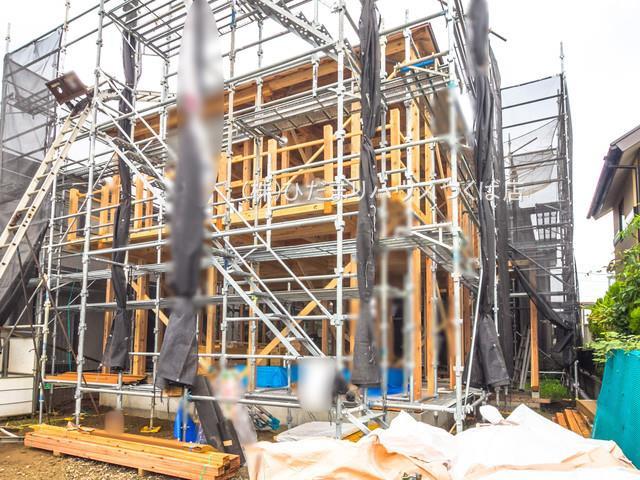 【外観】つくばみらい市谷井田3期 新築戸建