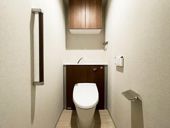 【トイレ】プレミストタワー大阪上本町