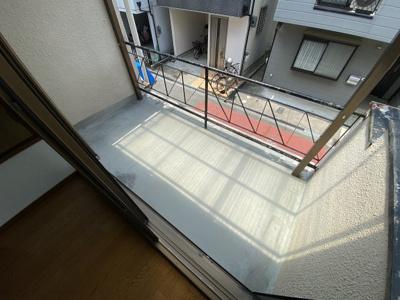 【バルコニー】富田丘テラスハウス