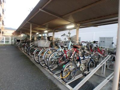 【駐輪場】ライオンズマンション武蔵浦和