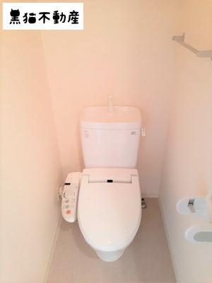 【トイレ】セントラルハイツ明野