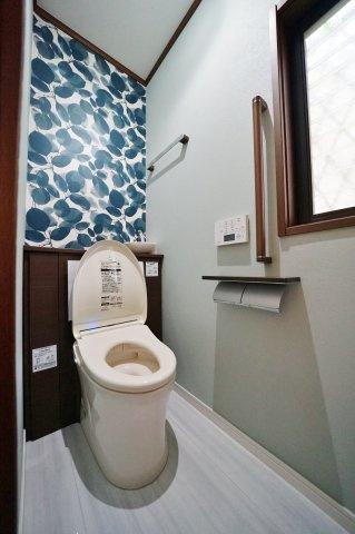 【トイレ】リフォーム済。富士山が望めます!保土ケ谷区岩井町 中古戸建て