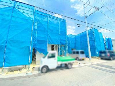 【前面道路含む現地写真】A208 新築戸建 府中市浅間町3丁目 全3棟