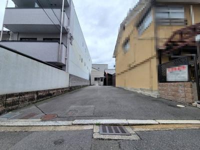 【外観】上京区天神北町 建築条件無し 売土地