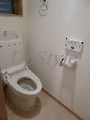 【トイレ】カーサロージエ