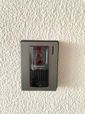 TVモニター付きインターホンが急な来訪者も安心して対応できます。