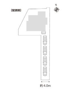【区画図】中古戸建 新潟市東区物見山3丁目