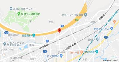 【地図】サンヒルズハイツ
