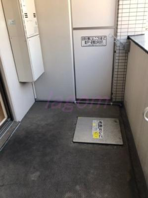 【バルコニー】エステムプラザ梅田中崎町Ⅲツインマークスノースレジデンス