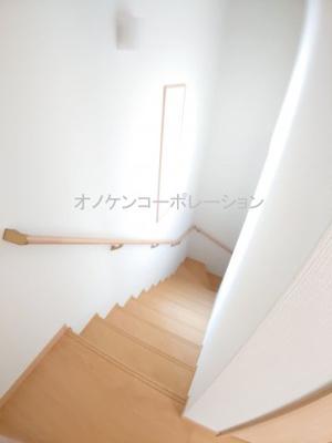 階段(同社施工例)