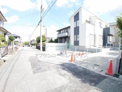 【前面道路含む現地写真】三木緑が丘町西7期 2号棟 ~新築一戸建て~
