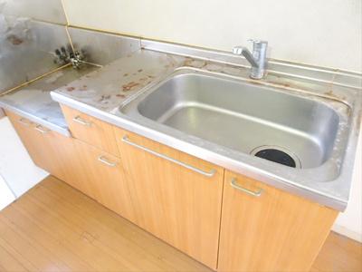 【キッチン】フォーブル桜上水
