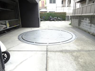 自走機械式駐車場♪