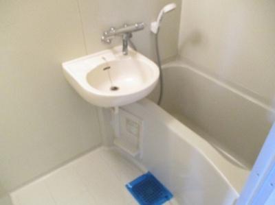 【浴室】コーポ中通