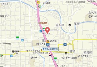 【地図】寿レジデンス・