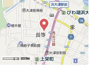【地図】ヴィラ・グレイス浜大津