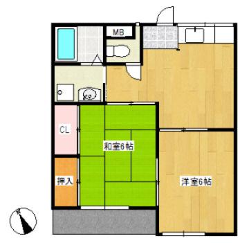 1階の角部屋、バストイレ別、洗面台付き、浴室浴槽追い炊き機能付き