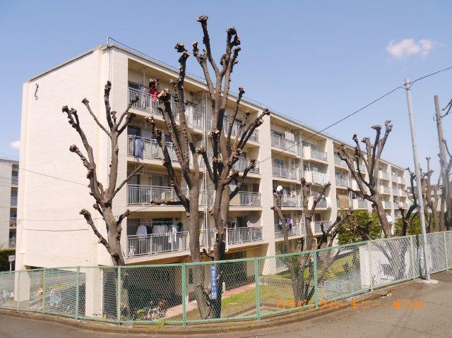 【外観】若木住宅2号棟