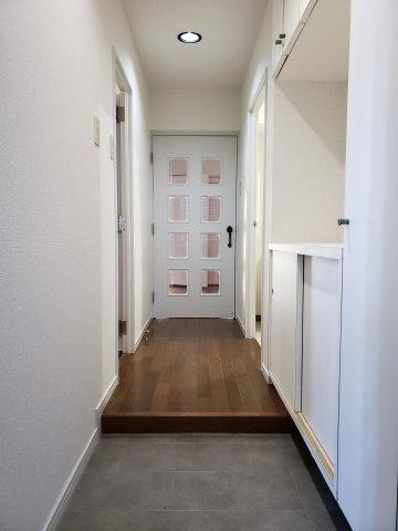【玄関】早良区南庄4丁目 中古マンション3LDK 1階