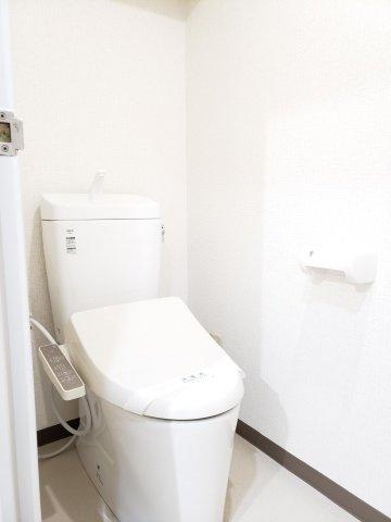 【トイレ】早良区南庄4丁目 中古マンション3LDK 1階