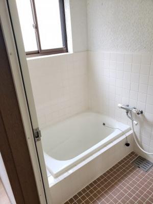 【浴室】鳥取市雲山借家