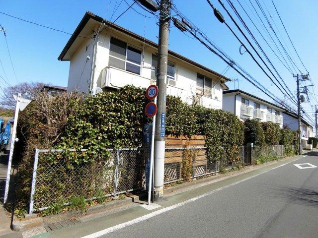 【外観】ハイツムサシノ1号棟