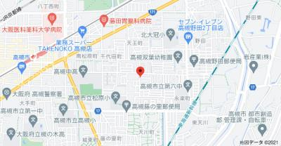 【地図】石田グリーンハイム