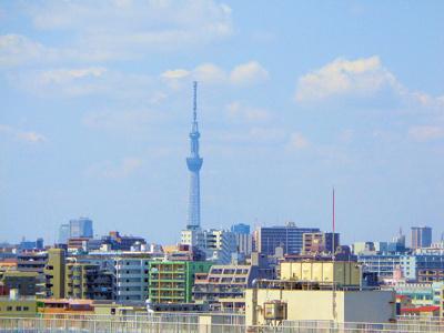 【展望】藤和シティコープ葛西 9階 角 部屋 67.77㎡ リ ノベーション済