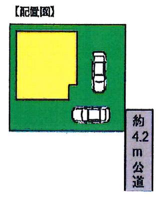 【区画図】鴻巣市宮前 新築住宅