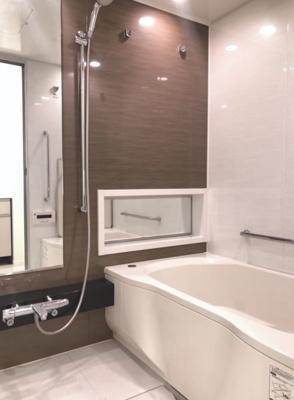 【浴室】パークリュクス恵比寿