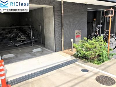 【駐輪場】グランカリテ神戸WEST