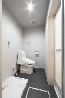 【トイレ】デザイナーズハウス清瀬