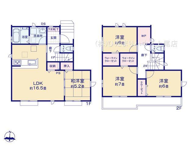 桶川市下日出谷 8期 新築一戸建て グラファーレ 01