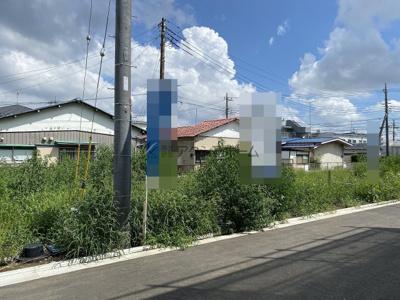 【前面道路含む現地写真】瑞穂町大字石畑・全11棟 建築条件なし土地 9区画