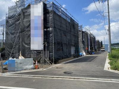 【前面道路含む現地写真】瑞穂町大字石畑・全11棟 建築条件なし土地 10区画