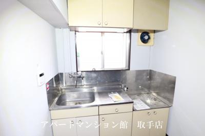 【キッチン】フラット白山第一