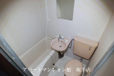 【浴室】フラット白山第一