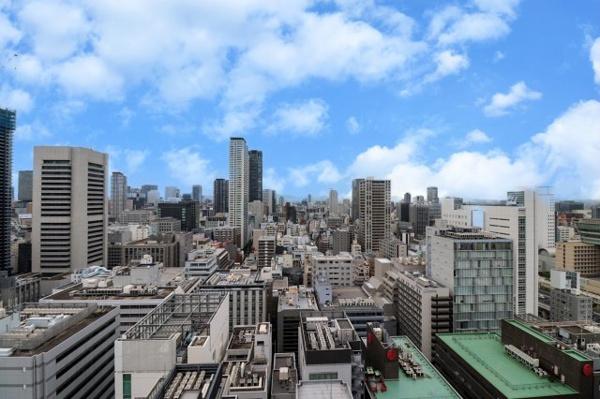 【バルコニー】23階からの景色です!