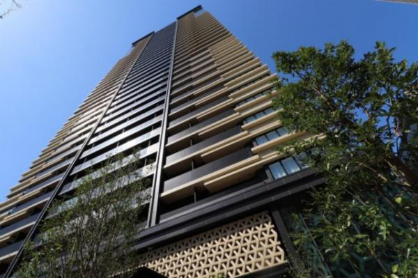 【外観】日本の伝統美に拘ったタワーマンション!!空間の美しさを損なわない外観をぜひご覧下さい。