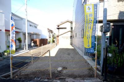 【外観】阿倍野区阪南町 土地
